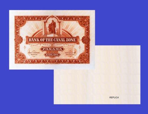 UNC PANAMA 1 COLON 1880 Reproduction