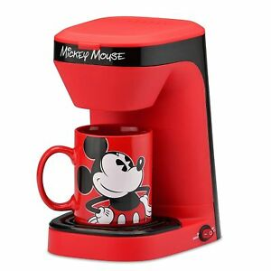 Disney Mickey Mouse Dcm123cn Single Serve Coffee Maker With 12 Ounce