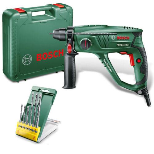 6 tlg Bohrer-Set Bosch Bohrhammer PBH 2100 RE