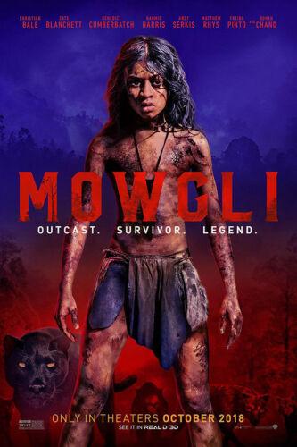 Y-958 Mowgli Art 27x40 24x36 Hot Poster 2018 Movie Film Rohan Chand