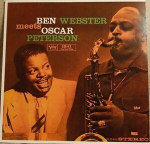 Ben Webster - Meets Oscar Peterson LP  New