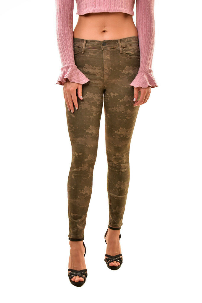 J BRAND Women's New Cropped 8227I563 Skinny Jeans Camo Size 29 RRP  BCF810
