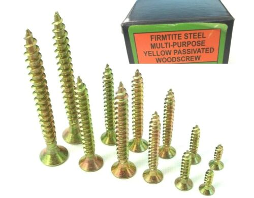 11 Lengths Countersunk Box of 200.. Pozi Firmtite chipboard wood screws M5