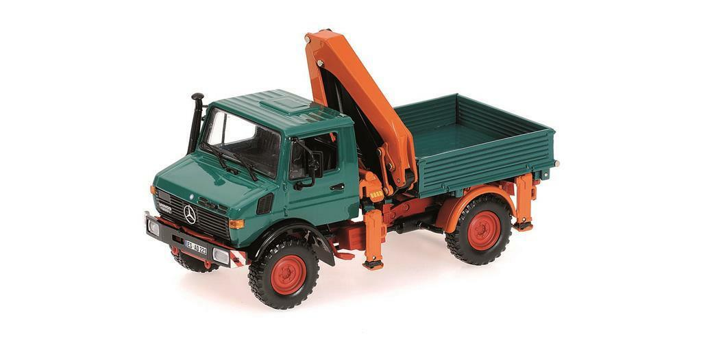 Minichamps 439033000 Mercedes Benz Unimog 1300 l kipper escala las  1 43