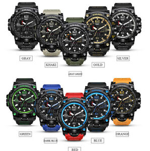 SMAEL-Waterproof-Sports-Military-Shock-Men-039-s-Analog-Quartz-Digital-Watches-UK
