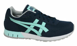 Asics Curreo Lace Up Navy Blue