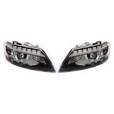 Audi Q7 2009- Tri - Xenon AFS LED daytime running lights DRL headlights PAIR