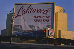 Lakewood Drive In Movie Theater Carson St Ca California 1981 View 8x12 Photo Ebay