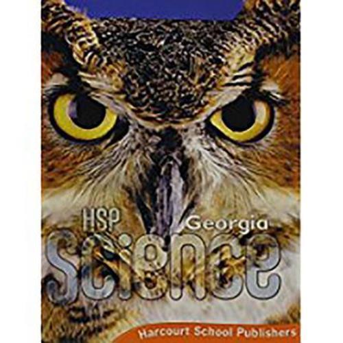Science Grade 5 Harcourt School Publishers Science Georgia