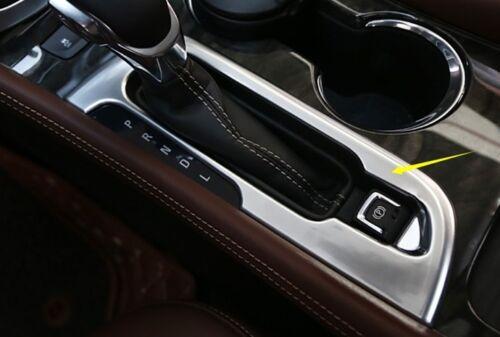 For Buick Envision 2014-2016 Chrome Inner Shift Gear Cover Trim Molding Garnish