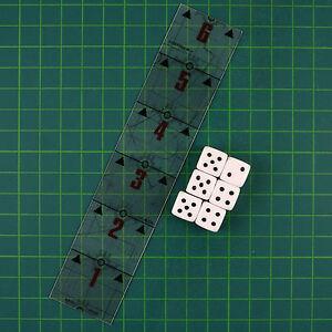 Erstschlag 6 x W6 CUBE et un JAUGE DE NIVEAU 6 ZOLL Warhammer 40.000 10127