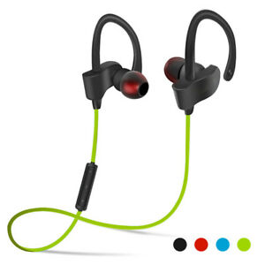 Wireless Sport Headset 4.1 Bluetooth Stereo Headphone Earphone For Mobile Phones