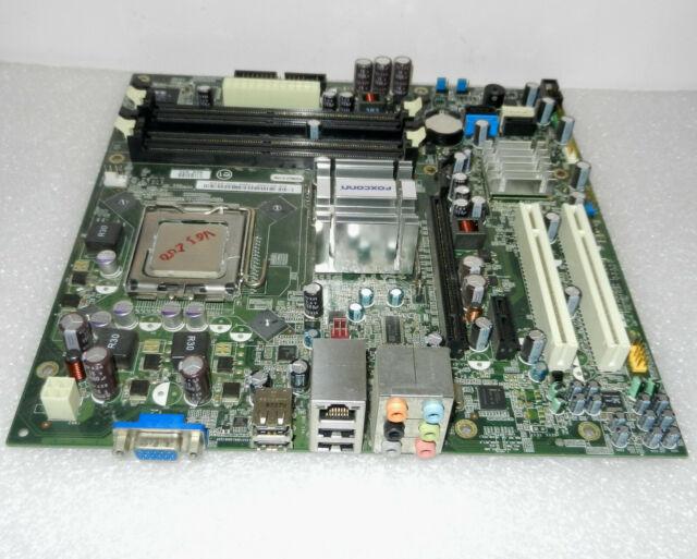 Dell CU409 Inspiron 530 Vostro 200 Socket LGA775 Motherboard G33M02 + E6750 CPU