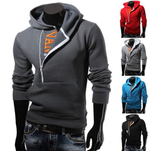 893650 VAN HILL Herren Kapuzen Pullover Zipper Hoodie S-XXL Neu