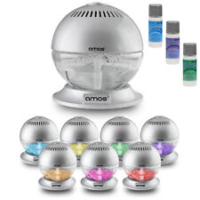 AMOS Globe Air Revitaliser Purifier Ioniser Freshener Colour Changing LED Light
