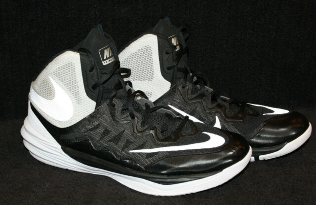 new arrival 2ff0d b4651 Nike Prime Hype DF II Men's Black/White Basketball Shoe Size 13 EUR 47.5  806941