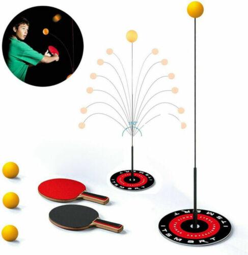 Tischtennis Trainer Ausrüstung Rückprall Roboter Tennis Rebound Tischtennis Neu