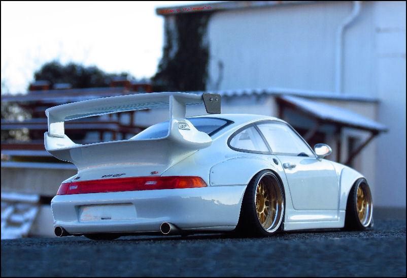 1 18 Tuning Porsche 911 type 993 gt2 EVO  BBS JANTES ALU  LIMITED EDITION  NEUF dans sa boîte
