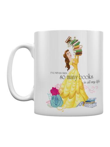 Beauty And The Beast Books White Mug
