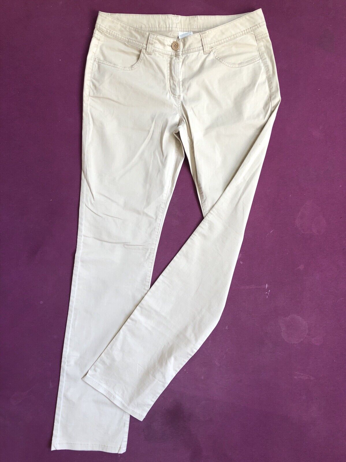 Max & Co by MAX MARA daMänner trousers W26 L32 Größe 34 L32 Low Waist Regular Fit Straight
