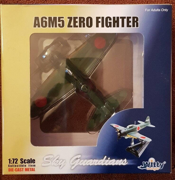 Sky Guardians Witty Wings A6M5 Zero Fighter WTW-72-001-003 1 72 NEW