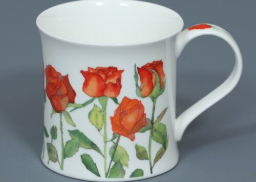 DUNOON GARDEN FLOWERS Fine Bone China WESSEX Mug #1B