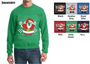 Dabbing-Santa-Ugly-Christmas-Sweater-Dabbing-Santa-Sweatshirt-Dabbing-Santa