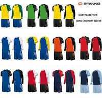 Stanno Liga Football Kit/strip Shirt & Short Set, Junior, Kids, Youth X10 & X15
