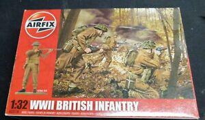 Soldats AIRFIX 1/32 WW2 British Infanterie
