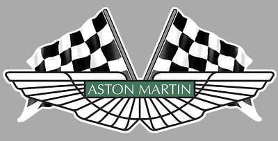 ASTON MARTIN RACING Sticker vinyle laminé