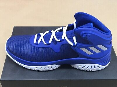 Adidas Explosive Bounce Basketballschuhe Sneaker Herren Stiefel blau BY3781