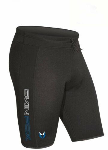 Weiterer Wassersport Skinfox Neoprenshort Boardshort Badeshort Wakeboardshort black-blue Gr.4XL Bekleidung