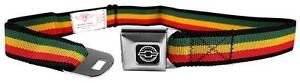 Seatbelt Men Canvas Web Military Webbing Chevy Chevrolet Logo Camaro Logo