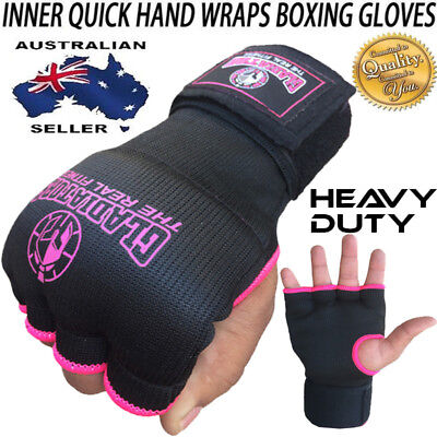 Javson Inner Gloves Gel Bandages Quick Hand Wraps Fist MMA Boxing Kick Boxing