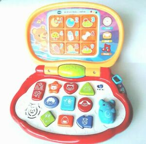 VTech-Brilliant-Baby-Laptop-Educational-Toy-Lights-Up-Buttons-Sounds-Computer