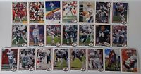 1991 Upper Deck UD Miami Dolphins Team Set of 22 Football Cards