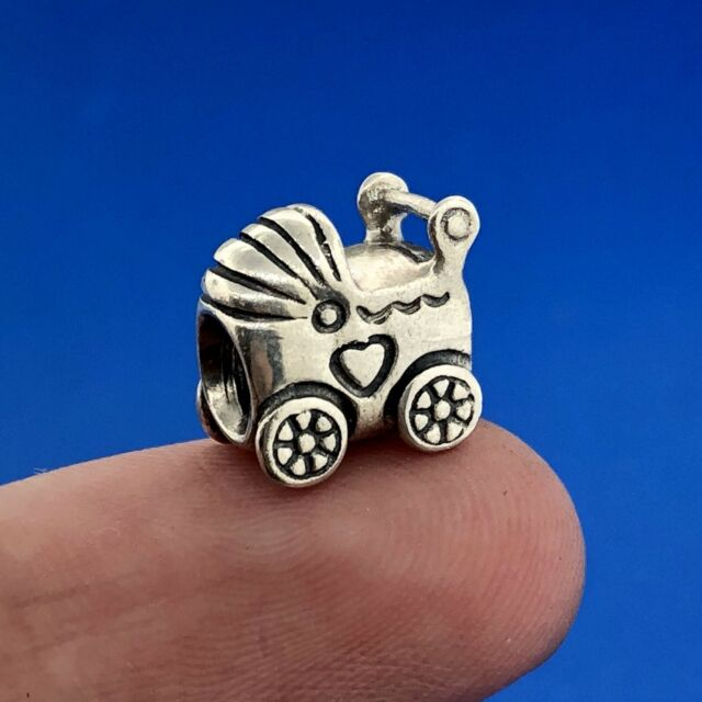 Authentic Pandora Silver 925 ALE Baby Carriage 790346