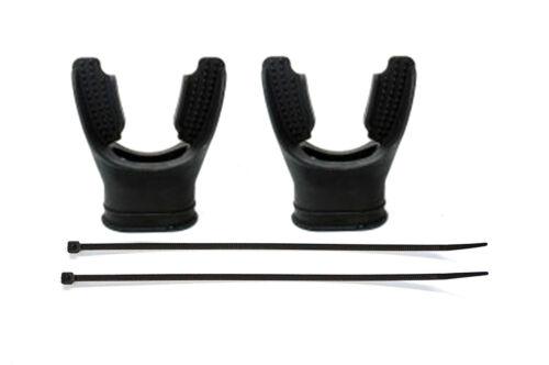 Sopras Sub Confort Silicone Long Embout Kit Avec Fermeture Éclair Cravate pour détendeur plongée