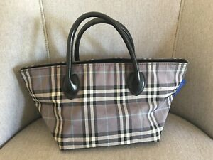 69720a59c11b Image is loading Burberry-London-Blue-Label-Nova-Check-Nylon-Small-