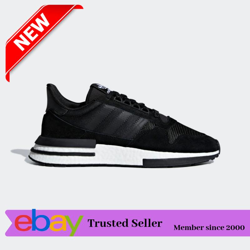 Adidas ZX 500 RM   B42227 Core Black Suede Men SZ 9.5-11 - MSRP   140