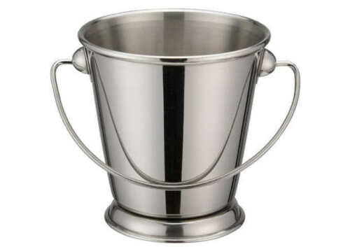 Winco DDSA-105S 3-1//2-Inch Dia Stainless Steel Mini Serving Pail with Handle