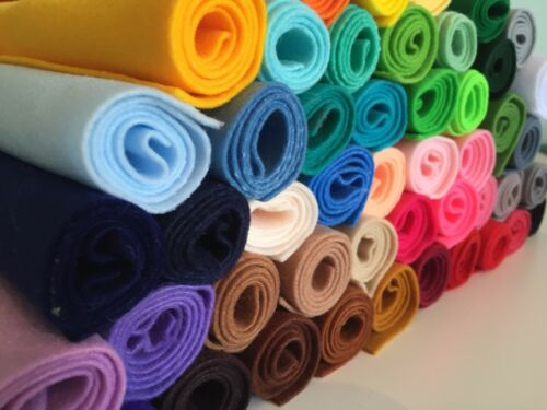 Polyester Soft Adhesive Sticky Back Felt Back onto fabric for Bow Making