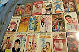 ELVIS PRESLEY - ALL HIS MOVIES + MORE ON VHS - LOTS STILL ...