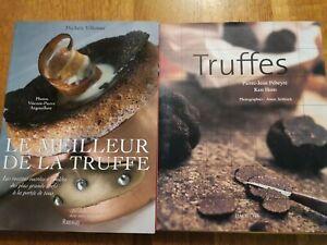 LOT-2-LIVRE-cuisine-Le-meilleur-de-la-truffe-Villemur-Recettes-Pebeyre-HomChefs