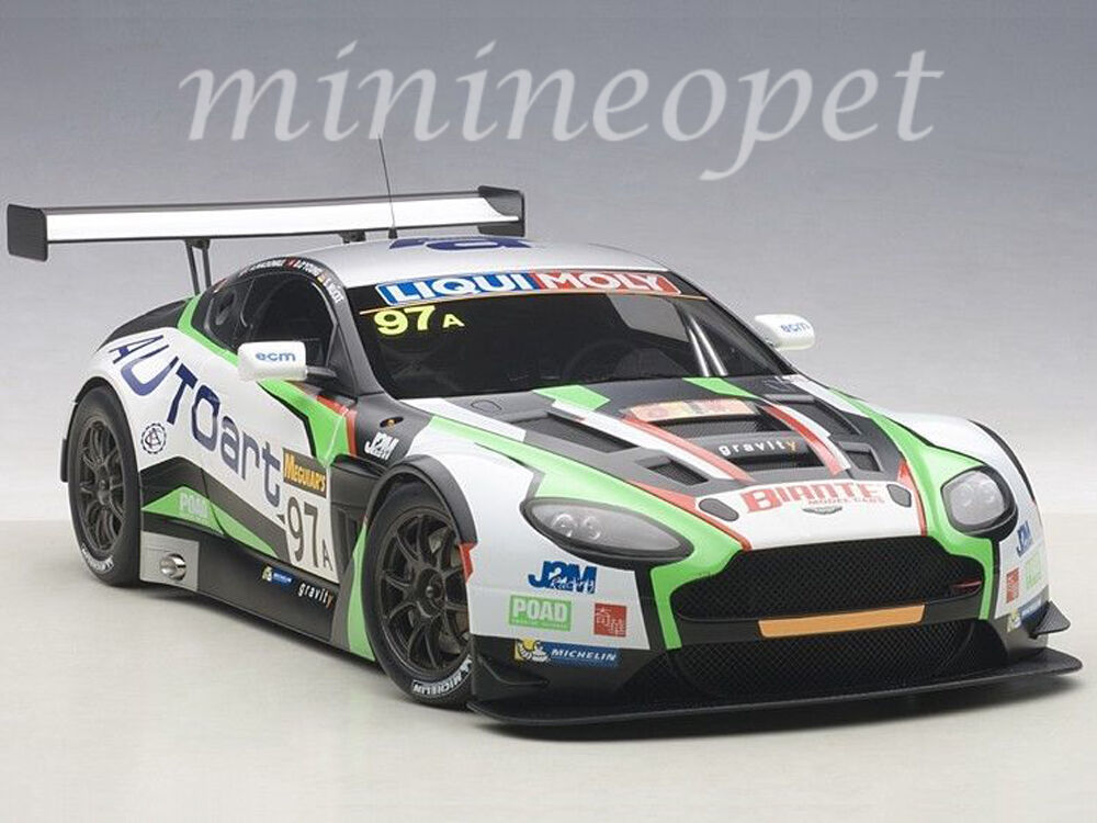 AUTOART 81506 Aston Martin V12  Vantage Bathurst 12 H endurance race 1 18  97  préférentiel