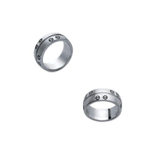 Magnificent Ring steel & screw for men New T 60