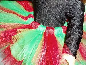 Christmas Tutu 18 inch Doll Clothes fits American Girl dolls Ballet Dance Tutu