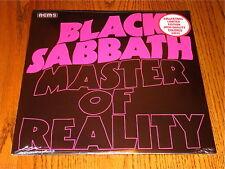 BLACK SABBATH MASTER OF REALITY COLLECTORS LIMITED EDITION COLORED VINYL LP