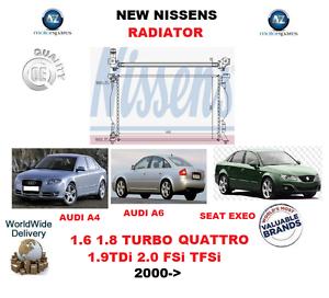 FOR-AUDI-A4-A6-SEAT-EXEO-1-6-1-8-2-0-TURBO-TDi-FSi-TFSi-16V-2000-gt-NEW-RADIATOR