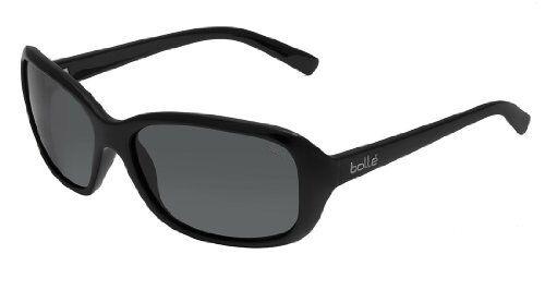 Bolle Womens Molly Polarized TNS Oleo AR Sunglasses - Shiny Black